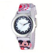 Disney Mickey Mouse Kids Time Teacher Strap Watch