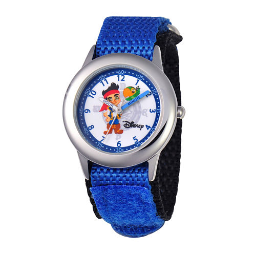 Disney Jake and the Neverland Pirates Kids Blue Fast Strap Watch
