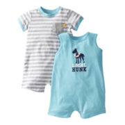 Carter's® 2-pk. Dog Rompers - Boys newborn-24m