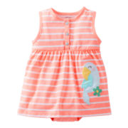 Carter's® Striped Parrot Sun Suit - Girls newborn-24m