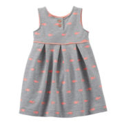 Carter's® Whale Print Dress - Girls nb-24m