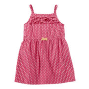 Carter's® Pink Floral Print Dress - Girls nb-24m