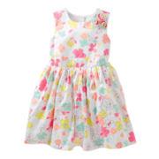 Carter's® Floral Sateen Dress - Girls 2t-4t