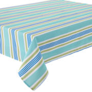 Sailor Stripe Indoor/Outdoor Tablecloth