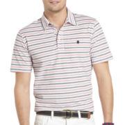 IZOD® Feeder-Stripe Oxford Polo