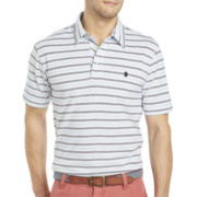 IZOD® Feeder-Stripe Oxford Polo