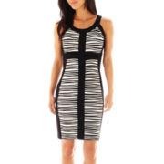 Melrose Sleeveless Colorblock Dress - Petite