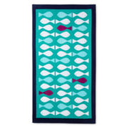 Happy Chic by Jonathan Adler Fish Beach Towel