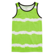 Arizona Tie-Dyed Striped Tank Top – Boys 8-20
