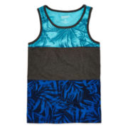 Arizona Tropical Colorblock Tank Top - Boys 8-20