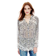 Joe Fresh™ Long-Sleeve Soho Blouse