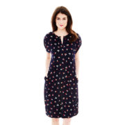 Joe Fresh™ Sleeveless Floral Print Shift Dress