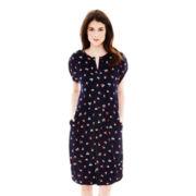 Joe Fresh™ Sleeveless Floral Print Shift Dress