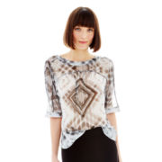 Joe Fresh™ Dolman-Sleeve Blouse