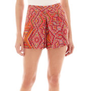 by&by Print Short Shorts