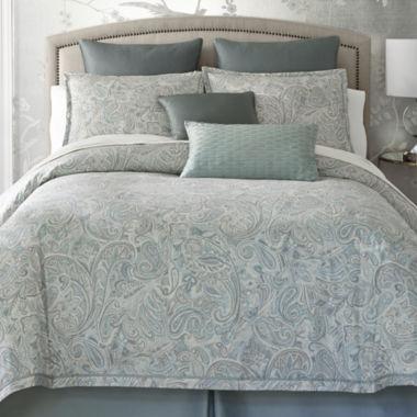 liz claiborne amhurst 4 pc comforter set & accessories