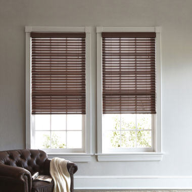 "jcpenney.com | JCPenney Home™ 2"" Wood Privacy Blinds"
