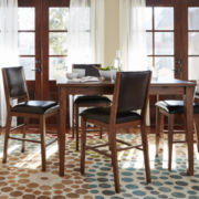 Dining Possibilities 5-pc. Counter-Height Rectangular Dining Set