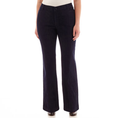 jcpenney.com | St. John's Bay® Bi Stretch Pants - Plus