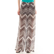Bisou Bisou® Chevron Print Beach Pants