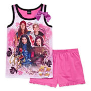Disney Its Descendants 2-pc. Sleeveless Sleep Top and Shorts - Girls 7-16