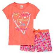 Sleep On It 2-pc. Heart Pajama Set - Girls 7-16
