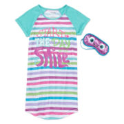 Sleep On It Short-Sleeve Sleep Shirt - Girls 7-16