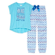 Sleep On It U Can Be Anything 2-pc. Sleep Pants Set - Girls 7-16