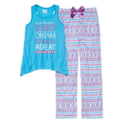 Sleep On It Sleep Dream Repeat Sleepwear - Girls 7-16
