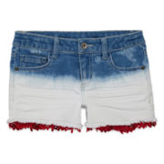 Arizona Dip-Dye Denim Shorties - Girls 7-16