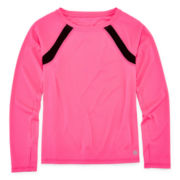 Xersion™ Long Sleeve Trainer Top - Girls 7-16 and Plus