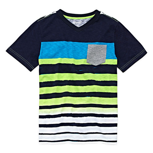 Arizona Striped Pocket Tee - Boys 8-20 and Husky