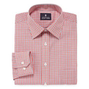 Stafford® Travel Long-Sleeve Broadcloth Dress Shirt