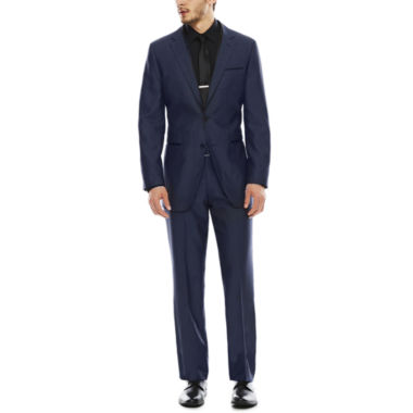 jcpenney.com | Akademiks® Birdseye Blue Suit Separates - Slim Fit
