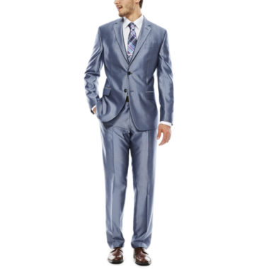jcpenney.com | JF J. Ferrar® Shimmer Blue Suit Separates - Slim Fit