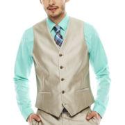 JF J. Ferrar® Slim Shimmer Vest