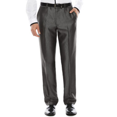 jcpenney.com | JF J. Ferrar® Diamond Charcoal Shimmer Suit Pants - Slim