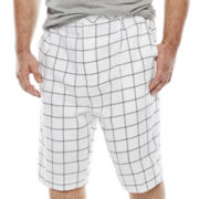 Steve Harvey Plaid Shorts - Big & Tall