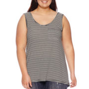 Hybrid Pocket Tank Top - Plus