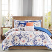 Madison Park Aria 6-pc. Duvet Set