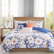 Madison Park Aria 6-pc. Coverlet Set