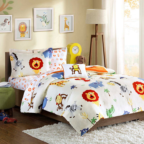 Mi Zone Jungle Josh Complete Bedding Set with Sheets
