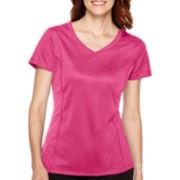 Made For Life™ Short-Sleeve V-Neck Mesh T-Shirt