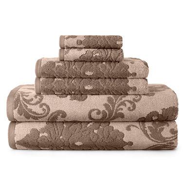 Royal Velvet Signature Soft Damask Bath Towels