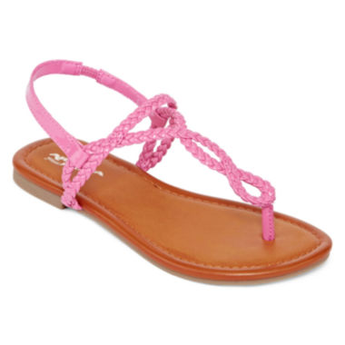 jcpenney.com | Arizona Iris Girls Braided Sandals - Little Kids