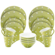 Maxwell & Williams™ Sprinkle Polka Dot 16-pc. Dinnerware Set