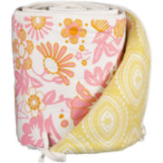 Lolli Living Whimsy Pink Bumper