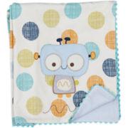 Lolli Living Cotton Velour Blanket - Bot Dot
