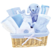 Trend Lab® Blue 12-pc. Baby Gift Basket Set
