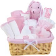 Trend Lab® Pink 12-pc. Baby Gift Basket Set